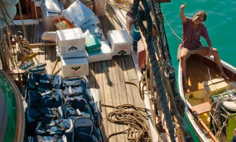 Historic Vessel Vega delivers Midwives Kits to rural midwives in East Timor