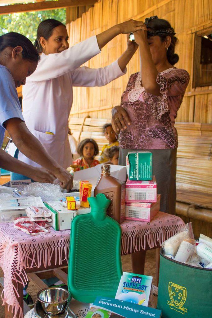 Triloka Mobile Clinic, Baucau District
