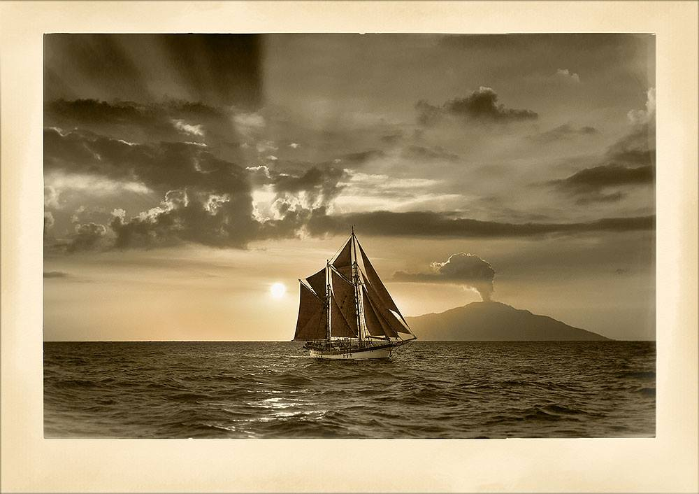 Art prints Historic Vessel Vega