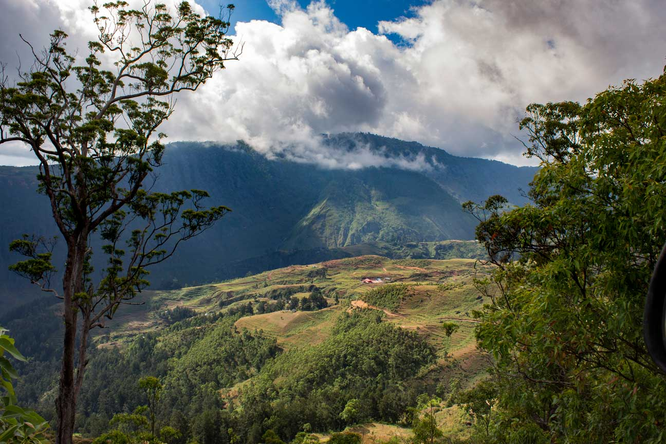 The school at the slopes of Mount Ramalau- EBFC Koileki