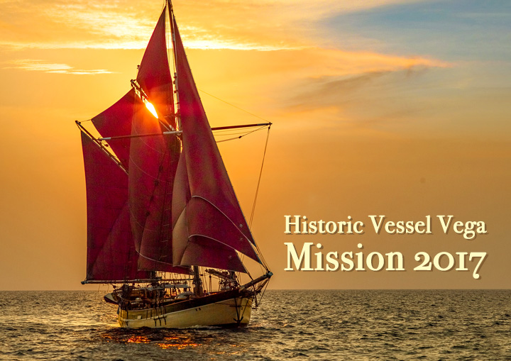 Historic Vessel Vega 2017 delivery mission to Eastern Indonesia and East Timor
