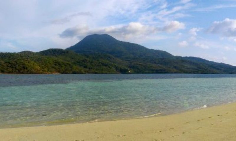 Pulau Nila. Southern Maluku, Indonesia. The government declared the island uninhabited due to the volcanic activity, no less there are still three villages with approximately 150 people who do not get any support.