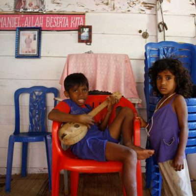 There is no school on the island. Children attend informal classes at the village church until they are 7 or 8 years old. After which they move to relatives working in the city Ambon or to Ceram.