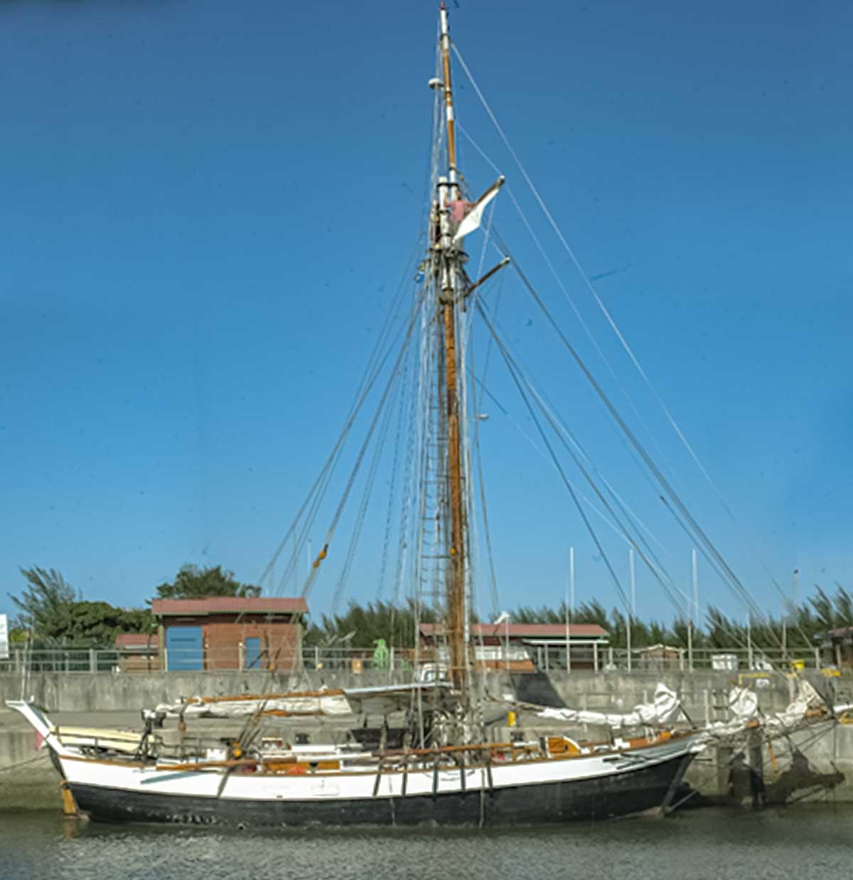 Historic Vessel Vega, Richards Bay, South Africa - January 2002