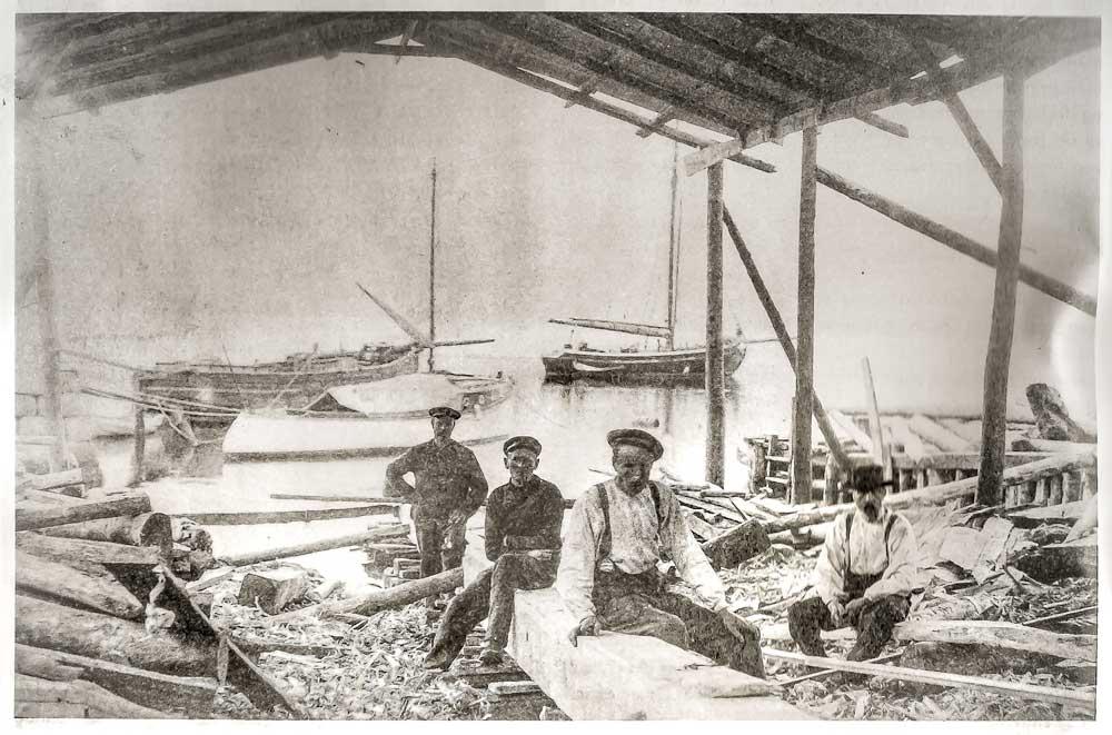 Vesselbuilding in Ølve, Kvinnherad